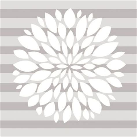 white flower wall stickers flower wall decals from buy buy baby