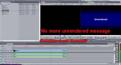 final cut pro unrendered avchd to prores no unrendered message