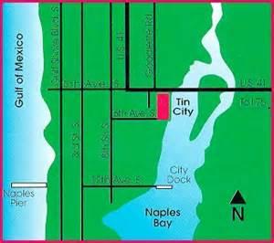 map of downtown naples florida tin city map naples downtown naples florida