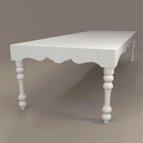 Bel Air Dining Table Bel Air Dining Set 3d Model Formfonts 3d Models Textures