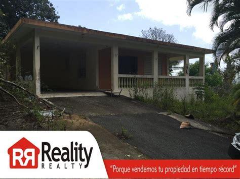 ventas de casas baratas en puerto rico inmuebles venta en reality realty compra y venta reposeidas bienes raices
