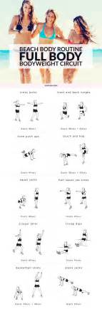 bodyweight circuit workout routine