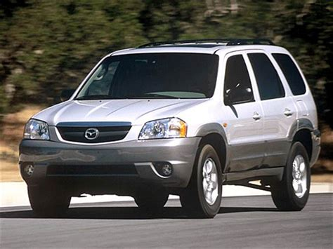 blue book value used cars 2001 mazda tribute engine control most fuel efficient suvs of 2003 kelley blue book