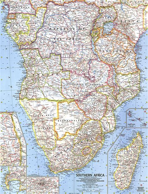 southern africa map southern africa map africa map archive wall maps