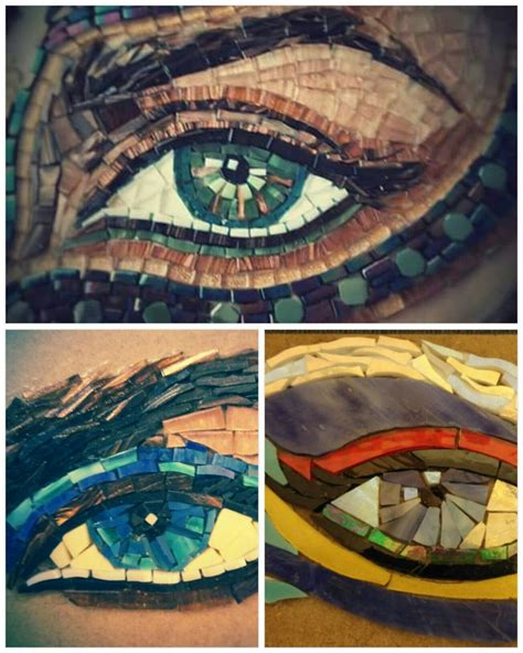 mosaic pattern in eye 1000 images about mosaics on pinterest mosaic wall the