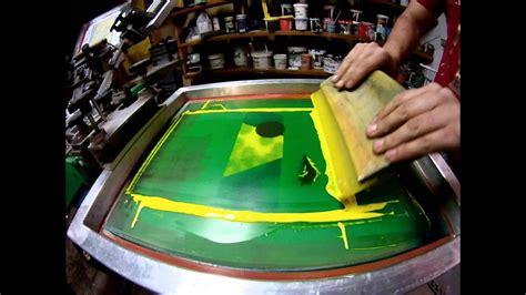 color cmyk screen printing process sixty  silk