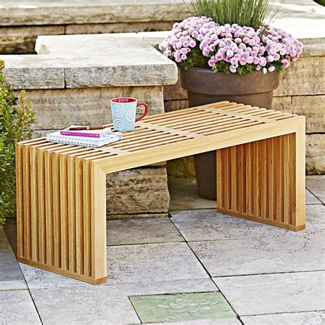All Seasons Bench Woodworking Plan From Wood Magazine Wooden Outdoor Furniture Plans