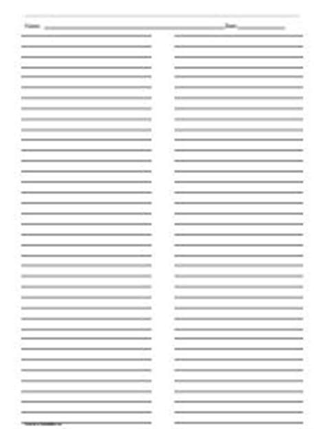 printable paper with columns ruled paper with two columns printables lists