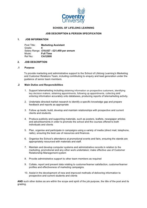 telemarketing description cover letter exles for customer service resume cv