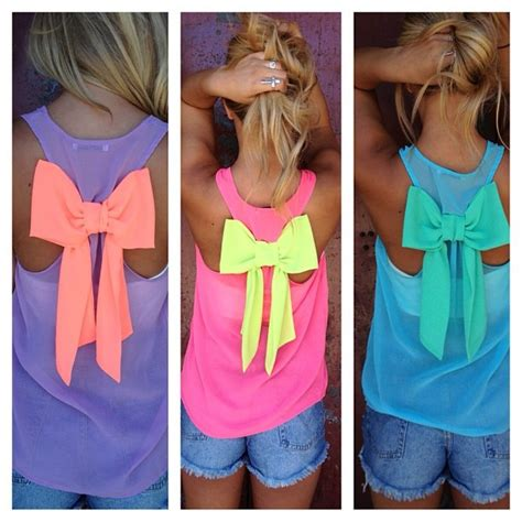 summer bow top shirt home and heart diy
