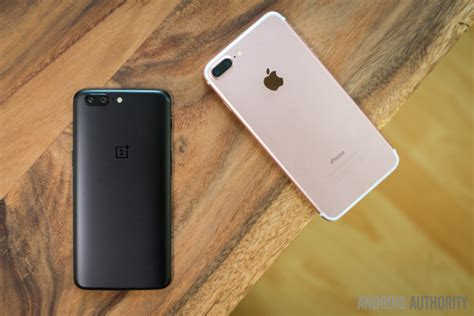 oneplus   apple iphone   quick  android authority