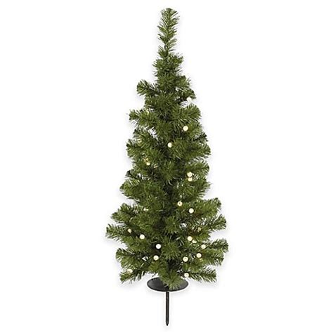 buy vickerman 3 foot solar powered christmas tree with