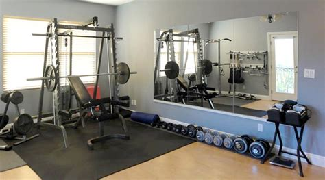 Ideas For Bathroom Decor by Gym Mirrors Modern Home Gym Dc Metro By Dulles