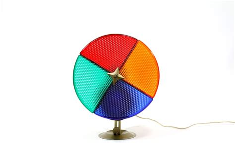 spinning color wheel spinning color wheel light
