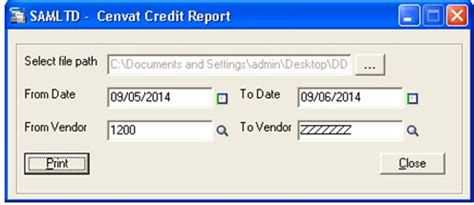 Cenvat Credit Register Format Cenvat Register Report 300 Erp Tips Tricks And Components