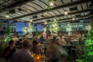 gallow green nyc s rooftop space enchants guests at