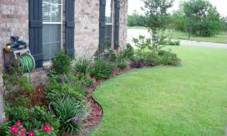 flower garden ideas in front of house landscaping gardening ideas
