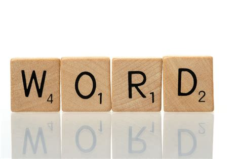 scrabble word with scrabble words