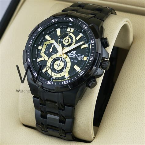 Casio Edifice Efr 539 Black watches prime casio edifice chronograph efr 539 dy