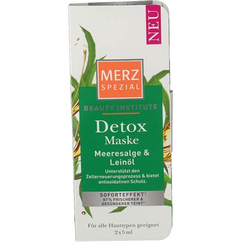 Detox Institute by Merz Spezial Institute Detox Maske Shop Apotheke At