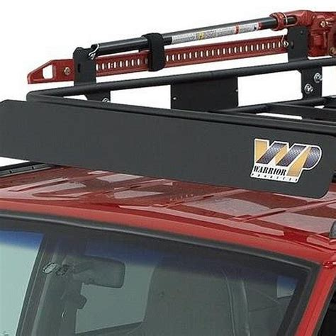 Wind Deflector For Roof Rack by Warrior 174 850 Outback Roof Rack Wind Deflector