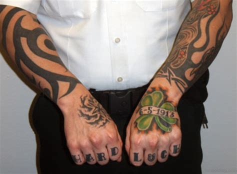 tattooed hands 30 leaf tattoos for