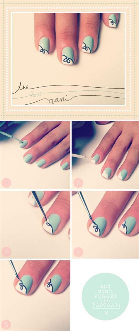 tutorial design nails 12 amazing diy nail art designs