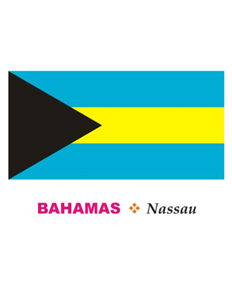 bahamas flag colors bahamas flag coloring pages for to color and print