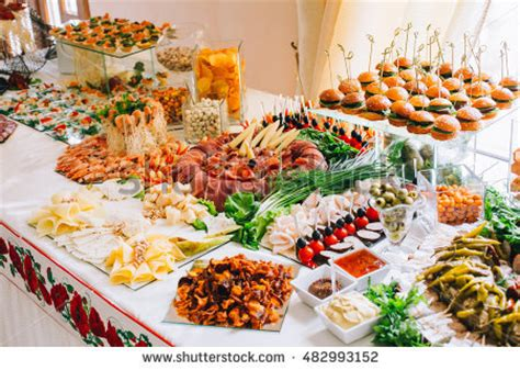 images of buffet tables buffet table stock images royalty free images vectors