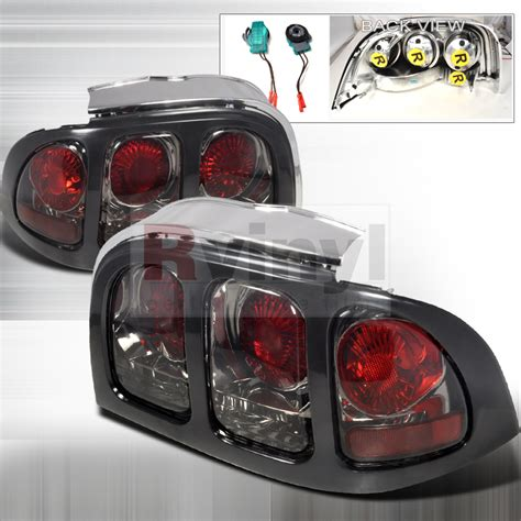 1994 mustang tail lights spec d tuning 174 ford mustang 1994 1998 smoked altezza tail