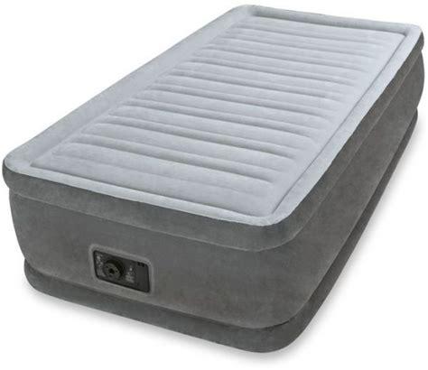 intex comfort plush mid rise dura beam  twin airbed price review  buy  dubai abu