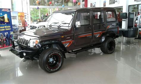 mahindra jeep 2016 2016 mahindra bolero zlx customized by mahindra