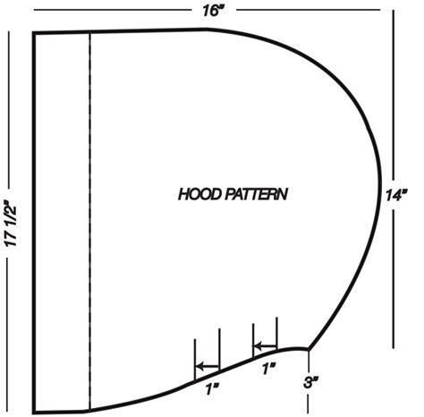 pattern drafting hood fashion sewing patterns inspiration community and