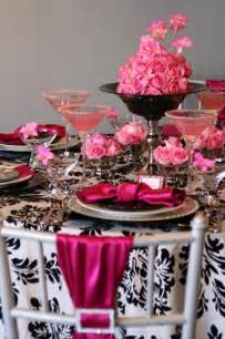 pink and black centerpieces for weddings black pink white centerpiece centerpieces chairs indoor