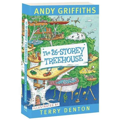 Story Treehouse Book - booktopia the 26 storey treehouse treehouse series book 2 by andy griffiths 9781742611273