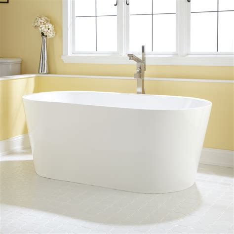 freestanding bathtub eden acrylic tub
