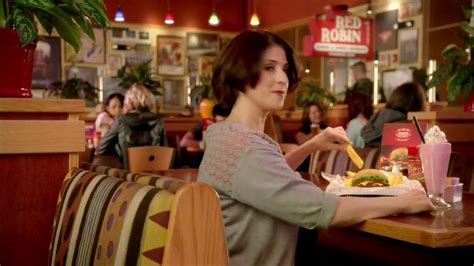 commercial actress red robin red robin tavern double burger tv spot burger daddy