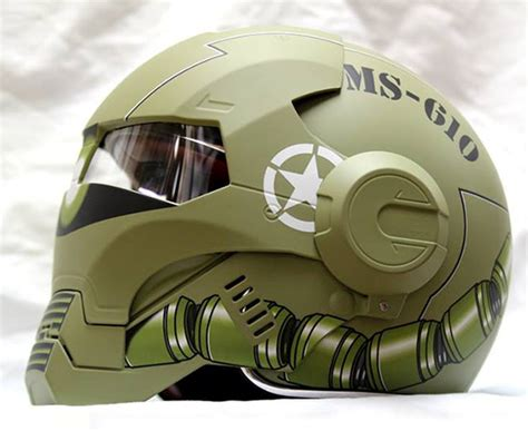 Casing One Plus 5 Ironman 2 Custom masei un casque moto au look d iron iron la