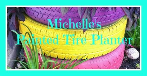 see do painted tire planter