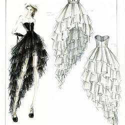 17 best ideas about fashion design sketches on