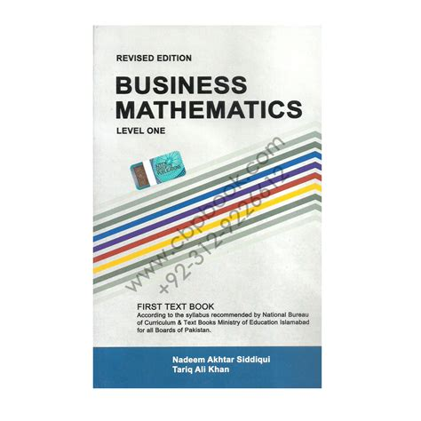 Mba Business Maths Notes by Business Mathematics 2014 15 Nadeem Akhtar Siddiqui Azeem