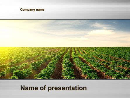 Agriculture Powerpoint Template Backgrounds 10291 Poweredtemplate Com Agriculture Powerpoint Templates