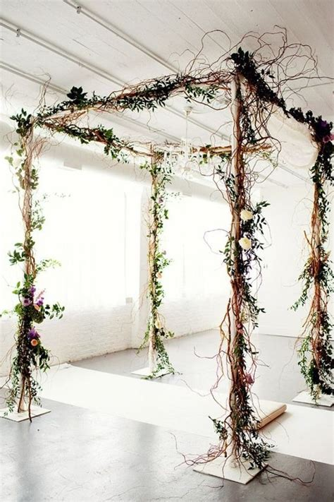 Wedding Arbor by 36 Wood Wedding Arches Arbors And Altars Weddingomania