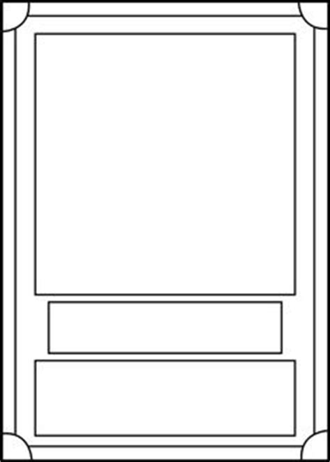 Printable Trading Card Template Click Here Trading Card Download Doc To Download The Document Free Trading Card Template