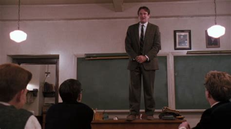 Oscar Vault Monday Dead Poets Society 1989 Dir Peter Dead Poets Society Standing On Desks