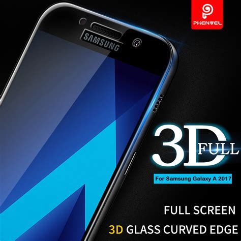 Screen Guard Samsung A5 2017 A3 2017 A7 2017 Tempered Glass Warna 3d glass for samsung galaxy a5 2017 a phenvel cover screen protector for galaxy a3 a5