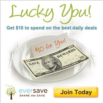 eversave printable grocery coupons frugal is cool eversave free 10 credit to all new and