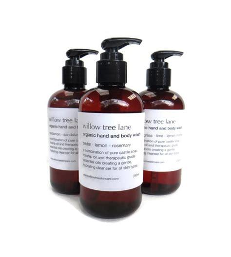 organic olive wash organic and wash cedar mandarin and rosemary