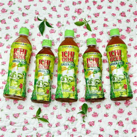 Teh Ichi Ocha 350ml new post freshness japanese green tea from ichi ocha