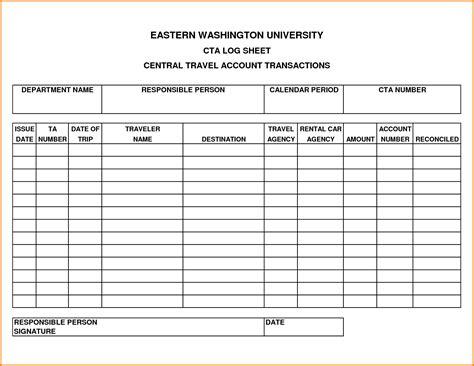 travel log template travel log template authorization letter pdf
